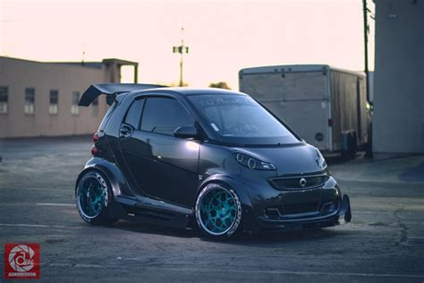 cambered smart car tuner tuesday unusual brabus off german cars for sale blog