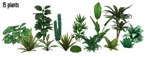decorative pieces for shelves around the sims 4 custom content pots plants