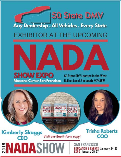 state dmv  exhibit   nada expo newswire