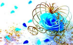 Cyan Color Flowers