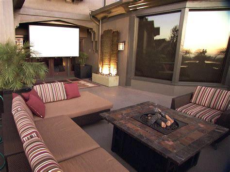 Backyard Home Theater by Patio Ideas Outdoor Spaces Patio Ideas Decks