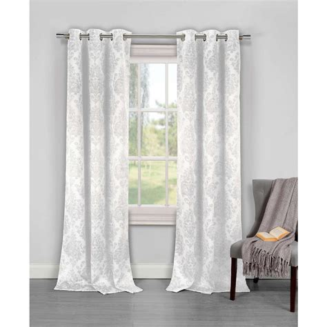 duck river window curtains duck river blackout phelan 84 in l room darkening grommet