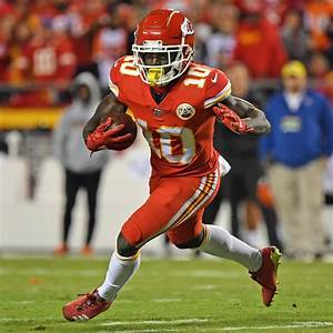 Tyreek Hill, Conley, Spencer Ware Fantasy Outlook with ...