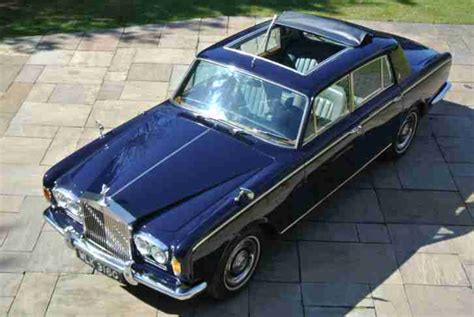 rolls royce roof rolls royce 1969 silver shadow chippendale with sun roof