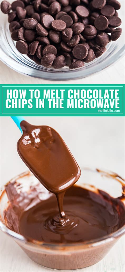 how to melt chocolate chips in microwave how to melt chocolate chips in the microwave how to melt chocolate