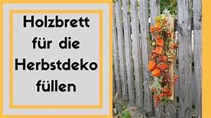 Wanddeko Für Den Garten : holzbrett herbstlich dekorieren t r wanddeko f r den ~ A.2002-acura-tl-radio.info Haus und Dekorationen