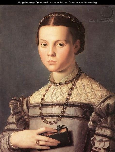Portrait Of A Young Girl 1541 45 Agnolo Bronzino