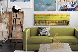 5 cool industrial media consoles for your living room for Cb2 signal floor lamp