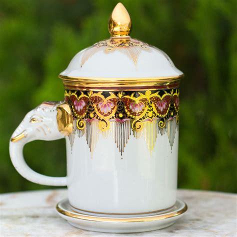 Find great deals on ebay for elephant coffee mug. Novica Benjarong Elephant Coffee Mug and Lid | Wayfair