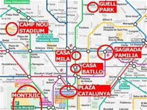 barcelona metro map tube map subway map barcelona budget