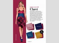 color crash course claret Google Search My Style