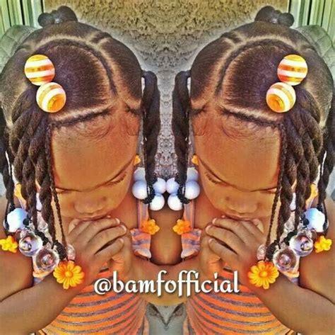 twists braids ballies barretts kids hair   girl hairstyles lil girl hairstyles