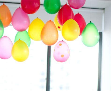 deco  faire avec des ballons sans helium blog