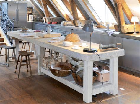cuisine in decoration cuisine ilot