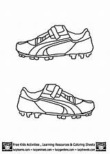 Coloring Soccer Boots Shoes Shoe Football Pages Drawing Template Cleat Nike Jersey Drawings Colouring Cool Boys Templates Fifa Editorial Illustration sketch template