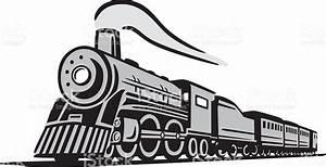 Classic Locomotive Train stock vector art 482969065 | iStock