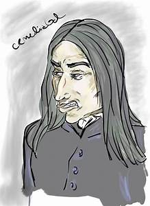 Severus' Sneer by CR-MediaGal on DeviantArt