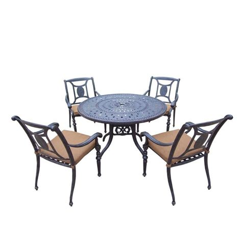patio table with 6 chairs furniture pc outdoor dining set hanover kerrington piece