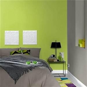 Chambre verte et grise home decor pinterest for Chambre grise et verte