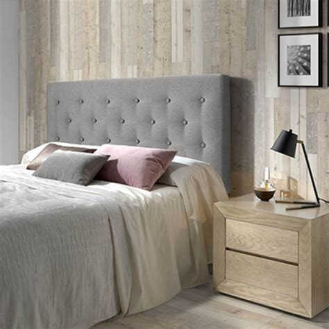 cabecero de cama tapizado oslo      cm capitone
