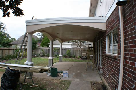 Patio Cover With Upper Deck