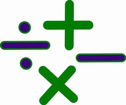 Math Cartoon Clip Signs Clipartmag