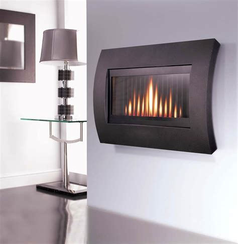 wall mount gas fireplace flavel curve in the wall gas remote