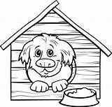 Dog Coloring Cartoon Illustrations Doghouse Clip Zero Returned Sorry Results sketch template