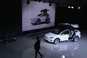 Tesla Porte Papillon : tesla model x r v lation en grande pompe du suv lectrique 7 places l 39 argus ~ Nature-et-papiers.com Idées de Décoration