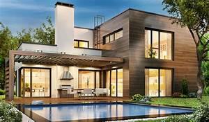 Moderne Häuser Bauen : moderne h user die ganze vielfalt im berblick blauarbeit ~ Buech-reservation.com Haus und Dekorationen