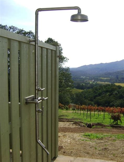 Highlow Rugged Outdoor Shower Remodelista