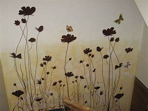 Home design fascinating latest wall painting