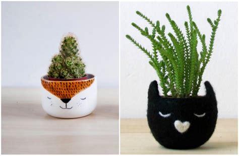 plante repulsif chat exterieur pot de fleurs animal et jardini 232 re en forme d animal en c 233 ramique