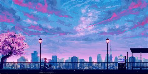 pink aesthetic pc anime wallpapers