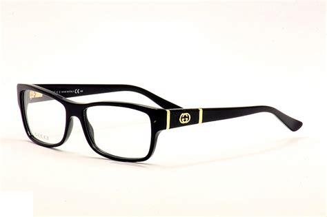 Black Gucci Mens Eyeglasses Frames For