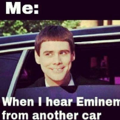 Funny Eminem Memes - eminem eninem rap god pinterest