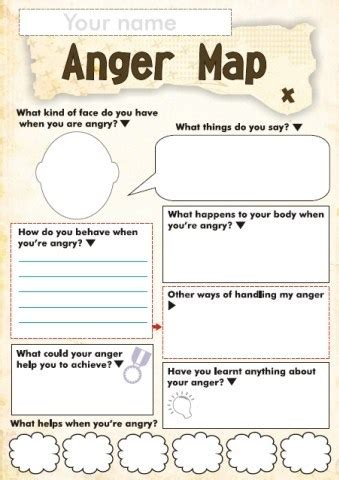 anger  feelings worksheets  kids