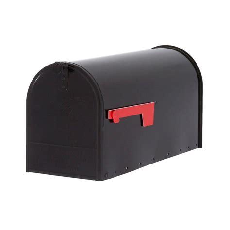 gibraltar mailboxes elite large premium steel post mount