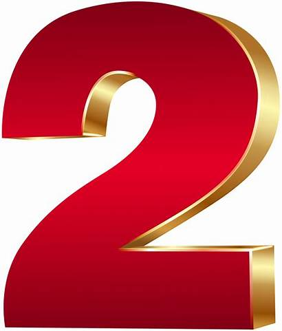 Number 3d Clipart Gold Clip Numbers Transparent