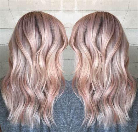 40 Trendy Rose Gold Hair Color Ideas Hairstyles Rose