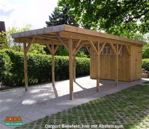carports carport bausatz erfurtholz