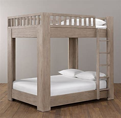 bunk bed plans full  full woodworking projects plans
