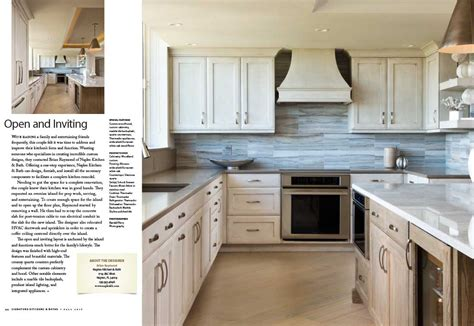 signature kitchen and bath featured in signature kitchens and baths magazine naples