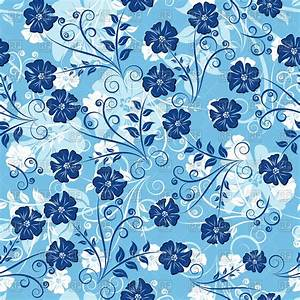 [69+] Blue Floral Background on WallpaperSafari