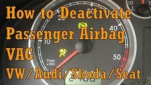 Vw Passat B5 Passenger Airbag Deactivate   Activaite