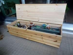 Banc De Rangement Bois : fabriquer un banc de jardin en bois 5 de jardin sur ~ Teatrodelosmanantiales.com Idées de Décoration