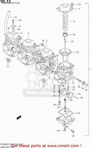 Suzuki Gsf600s Bandit 2003  K3  Usa  E03  Carburetor