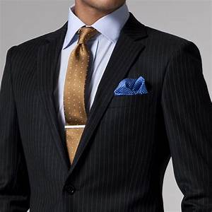 Black White Pinstripe Suit Custom Made Wedding Suits For ...