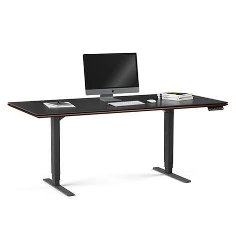 bdi sequel executive desk sequel executive chocolate modern lift desk by bdi eurway