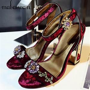 designer cage heel crystal rhinestone sandals peep toe With wedding dress heels